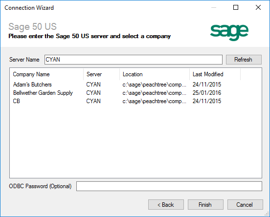 Sage 50 US Connection