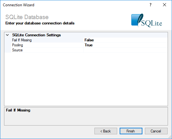 SQLite Connection